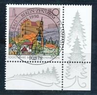 GERMANY Mi. Nr. 1978 1000 Jahre Bad Frankenhausen - ESST Berlin - Eckrand Unten Rechts - Used - BRD