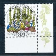 GERMANY Mi. Nr. 1999 Hopfenanbau In Deutschland  - ESST Berlin - Eckrand Unten Rechts - Used - BRD