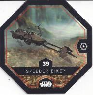 STAR WARS 2016 - Jeton Leclerc Cosmic Shells N° 39 - SPEEDER BIKE - Autres Collections
