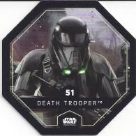 STAR WARS 2016 - Jeton Leclerc Cosmic Shells N° 51 - DEATH TROOPER - Autres Collections