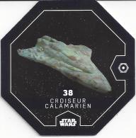 STAR WARS 2016 - Jeton Leclerc Cosmic Shells N° 38 - CROISEUR CALAMARIEN - Autres Collections