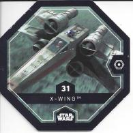 STAR WARS 2016 - Jeton Leclerc Cosmic Shells N° 31 - X-WING - Autres Collections