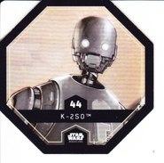 44 K - 250 2016 STAR WARS LECLERC COSMIC SHELLS - Episode II