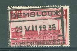"""BELGIE - OBP Nr TR 200 - Cachet  """"GEMBLOUX - MARCHANDISES"""" - Cote 5,00 € - (ref. AD-8986) - Ferrocarril"""