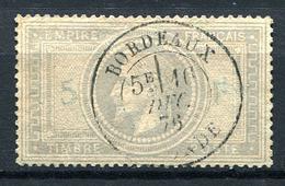 99311) FRANKREICH # 32 Gestempelt Aus 1869, 1.000.- € - 1863-1870 Napoléon III. Laure