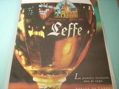 PUBLICITE ABBAYE DE LEFFE - Posters