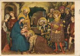 GENTILE  DA  FABRIANO   L'ADORAZIONE  DEI  MAGI    FIRENZE   GALLERIA  UFFIZI     (VIAGGIATA) - Paintings