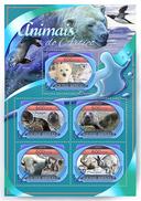 GUINEA BISSAU 2016 - Arctic Animals, Polar Rabbit. Official Issue
