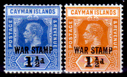 Cayman-009 - 1917-1919 - (+) LH - Privi Di Difetti Occulti. - Cayman (Isole)