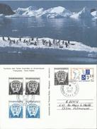 TAAF 1997 Oblitéré En Terre Adélie - Entier Stationery N° 1 Oblitéré En Terre Adélie - Enteros Postales