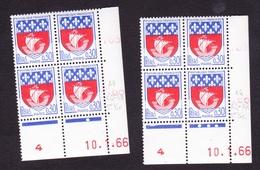 Coins Datés N° 1354B PARIS - Paire De Galvano - Armoiries Et Blasons - TB** - Coins Datés