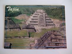 Postcard Postal Mexico Veracruz Tajin Niches Temple And Arqueological Zone - Mexico