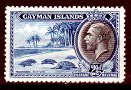 Cayman-011 - 1935 - (+) Hinged - Privo Di Difetti Occulti. - Cayman (Isole)
