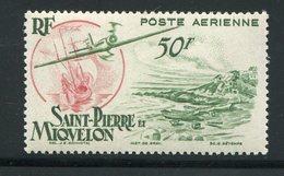 SAINT PIERRE ET MIQUELON- P.A Y&T N°18- Neuf Sans Charnière ** - Luchtpost