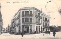 Afrique > Tunisie -SOUSSE Place Pichon Et Rue Villedon (Magasin Général)* PRIX FIXE - Túnez