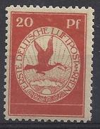 Germany 1912  Flugpostmarken (*) MH  20pf  Mi.II - Deutschland
