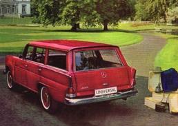 Mercedes Heckflosse Universal     -  CPM - Voitures De Tourisme