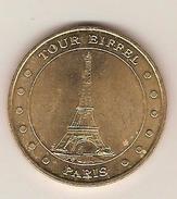 - Monnaie De Paris - PARIS , Tour EIFFEL N°2 12 Points   Année 2001 Cote 26 € - Monnaie De Paris
