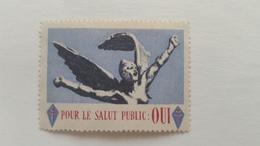 FRANCE:vignette Général De Gaulle Pour Le Salut Public Neuf** - Military Heritage