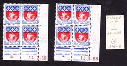 Date Rare - Coins Datés N° 1354B PARIS - Paire De Galvano - Armoiries Et Blasons - TB** - Angoli Datati
