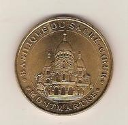 - Monnaie De Paris - PARIS , Basilique Du Sacré Coeur MONTMARTRE N°1 Vue Générale N°1 Année 2001 Cote 25 € - Monnaie De Paris