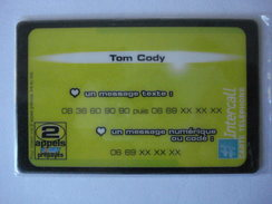 "INTERCALL  PR154  "" Neuve Non Gratter ""  TOM CODY - France"