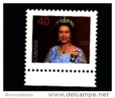 CANADA - 1990  40c  QUEEN ELISABETH   MINT NH - 1952-.... Regno Di Elizabeth II