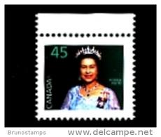 CANADA - 1995  45c  QUEEN ELISABETH PHOSPHOR FRAME  MINT NH - 1952-.... Regno Di Elizabeth II