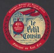 Etiquette De Fromage Camembert   -  Le Petit Cousin  -  Renard Gillard  à  Biencourt Sur Orge    (55 ) - Quesos