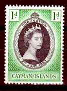Cayman-015 - 1953 - (++) MNH - Privo Di Difetti Occulti. - Cayman (Isole)