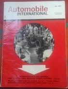 Automobile International Juillet 1963 Publicités JEEP Gladiator, TAUNUS Transit, Conseils Et Nouveaux Produits Auto - Magazines & Newspapers
