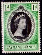 Cayman-016 - 1953 - (++) MNH - Privi Di Difetti Occulti. - Cayman (Isole)