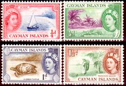 Cayman-017 - 1953-59 - (+) Hinged - Privi Di Difetti Occulti. - Cayman (Isole)