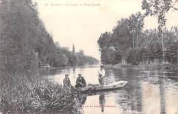 45 Loiret (Environs D´Orléans) OLIVET Le Loiret Au Pont Cotelle  (barque Barques)(Galeries Orléanaises  N°10) *PRIX FIXE - Orleans