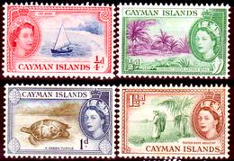 Cayman-018 - 1953-59 - (+) Hinged - Privi Di Difetti Occulti. - Cayman (Isole)