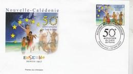 Nouvelle Calédonie FDC Yvert 997 - Traité De Rome - 10/5/2007 - FDC