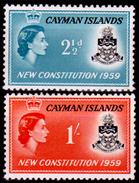 Cayman-019 - 1959 - (+) LH - Privi Di Difetti Occulti. - Cayman (Isole)
