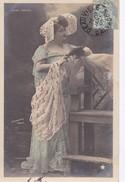 Carte 1905 ANNA TARIOL / FEMME THEATRE ? / STREBBING PHOTO - Entertainers