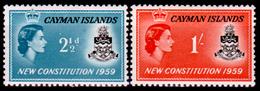 Cayman-020 - 1959 - (+) LH - Privi Di Difetti Occulti. - Cayman (Isole)