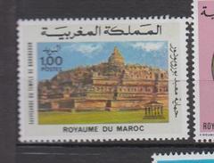 Maroc YV 754/5 MNH 1976 Borobodur - Morocco (1956-...)