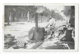 PARIS  (cpa 75) Le Bitumier -   - L 1 - Petits Métiers à Paris