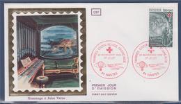 = Enveloppe 1er Jour Hommage à Jules Verne Croix Rouge Nantes 20 Novembre 82 N°2248 Vingt Mille Lieues Sous Les Mers - 1980-1989