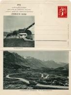 Entier Lettre Exposition Nationale 1939 Neuve Xx  BERBAUERNHOF - Stamped Stationery