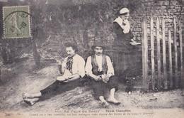 Carte 1920 AU PAYS DU BERRY / REPAS CHAMPETRE / FOLKLORE - Non Classés