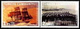 Turkey - 2015 - 125th Anniversary Of Frigate Ertugrul - Mint Stamp Set - Nuevos