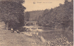 Houyet - Pont Sur La Lesse (animée, 1925) - Houyet