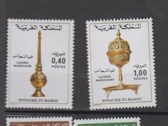 Maroc YV 803/4 MNH 1978 Cuivres - Marruecos (1956-...)