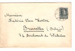 Poland Cover Warsaw 1929 ? To Belgium Backside Cinderella Expo Poznan 1929 PR3872 - Briefe U. Dokumente