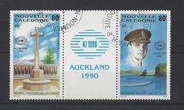 """NOUVELLE-CALEDONIE . YT PA 269/270 Obl """"Nouvelle-Zelande1990"""" Exposition Philatélique International à Auckland 1990 - Posta Aerea"""