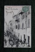 BEAUCAIRE - Rue Des Cordeliers Le 14 Juillet 1904 - Beaucaire